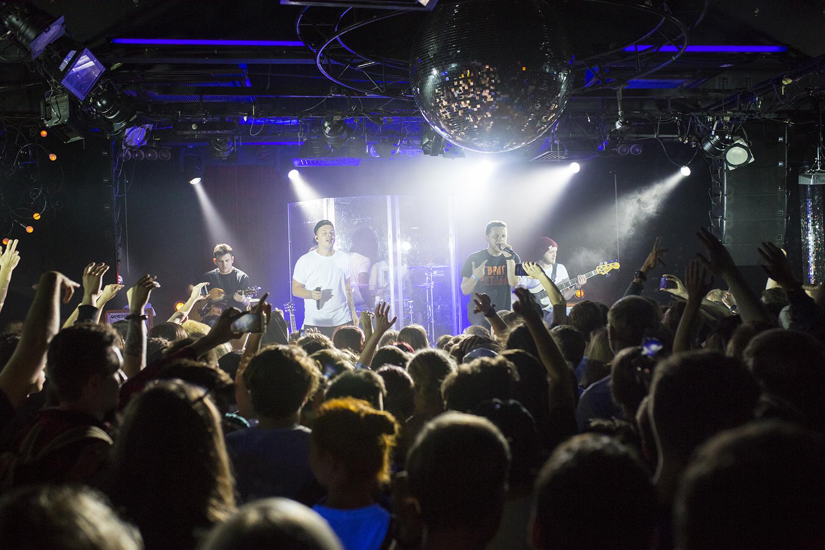 Фото Anacondaz, Единственный клубный концерт