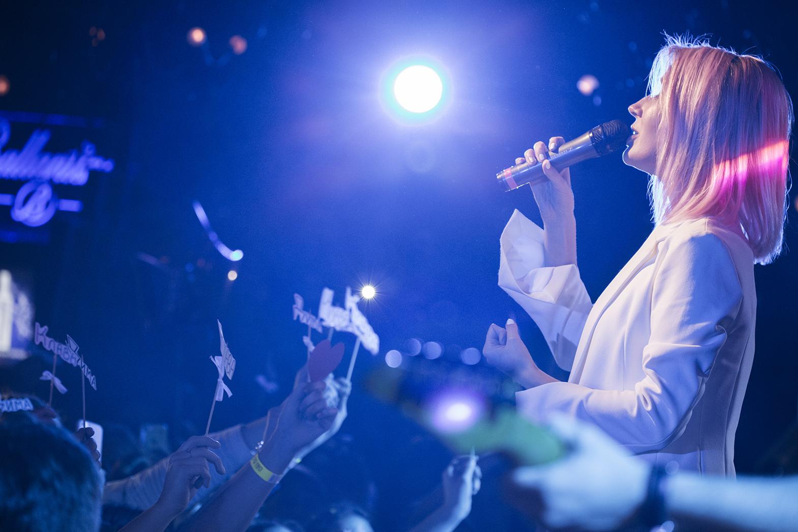 Фото Клава Кока, Большой сольный концерт