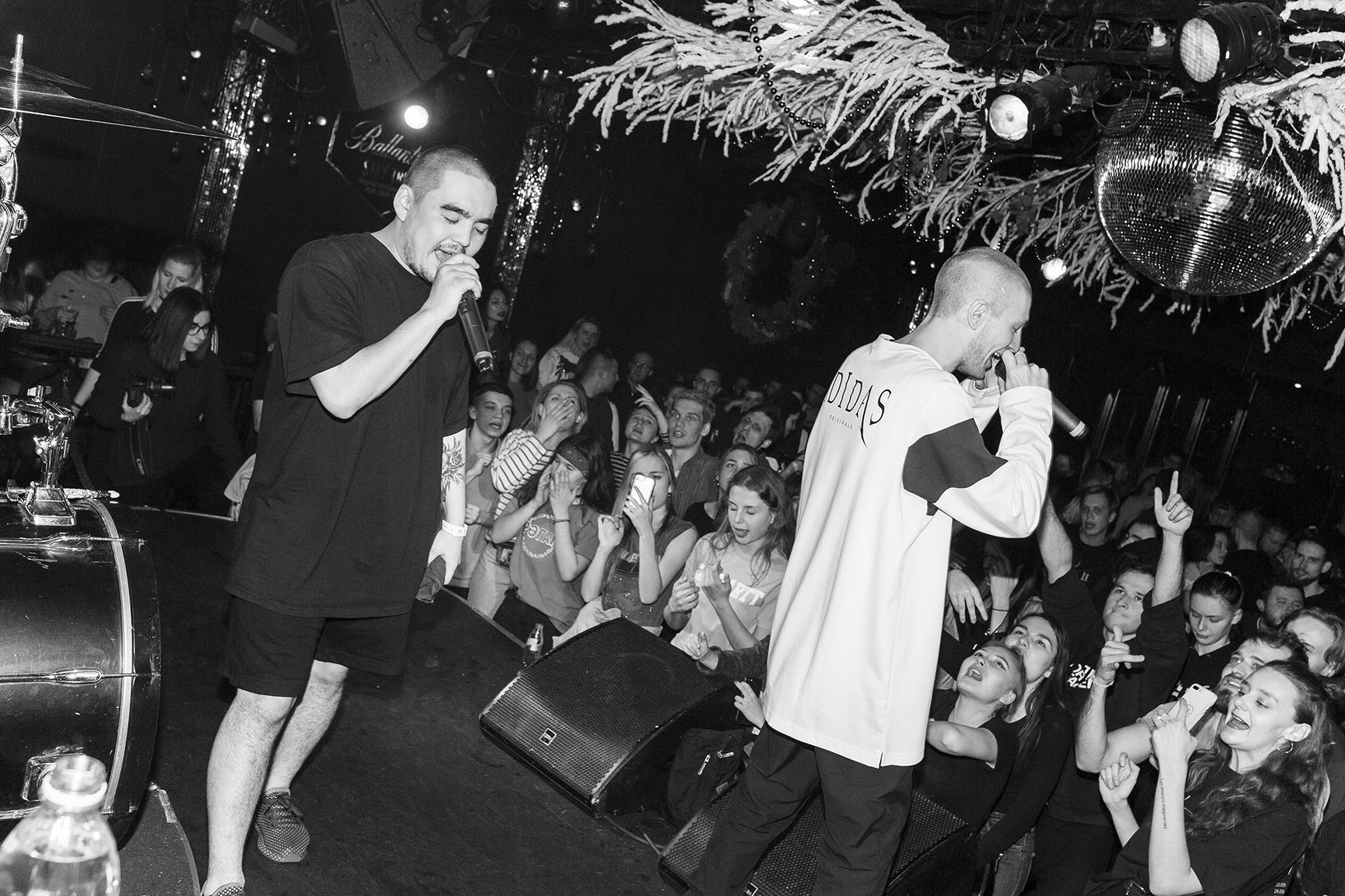 Фото bollywoodFM, Спецгости - Бакей, Kakora и Хаски