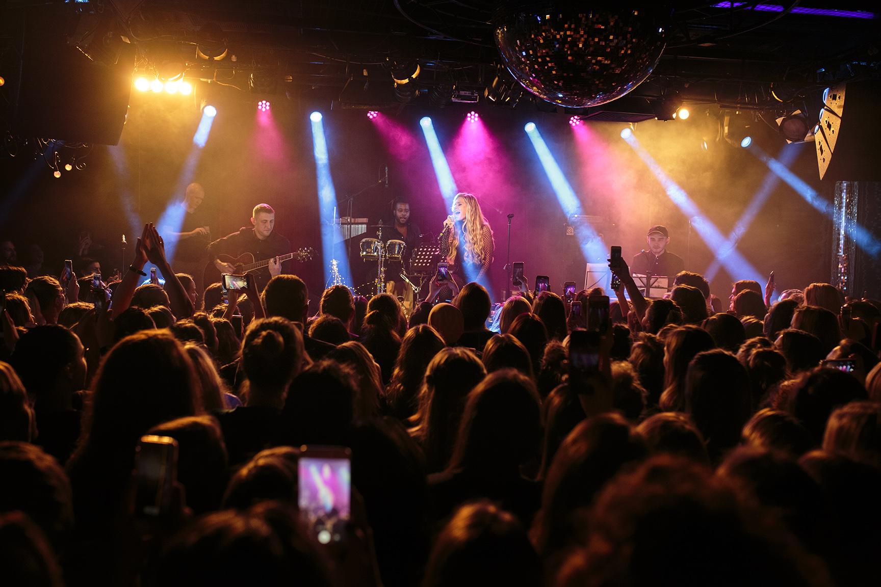 Фото Рита Dакота, Живой концерт