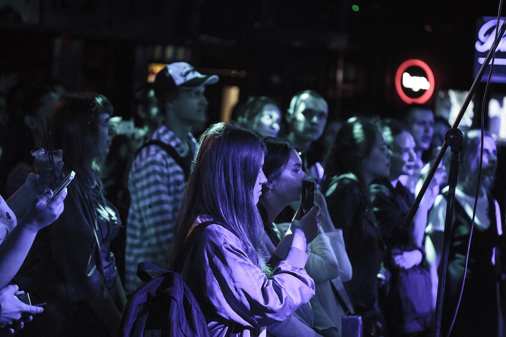 Фото J. Bernardt, Единственный концерт в Москве
