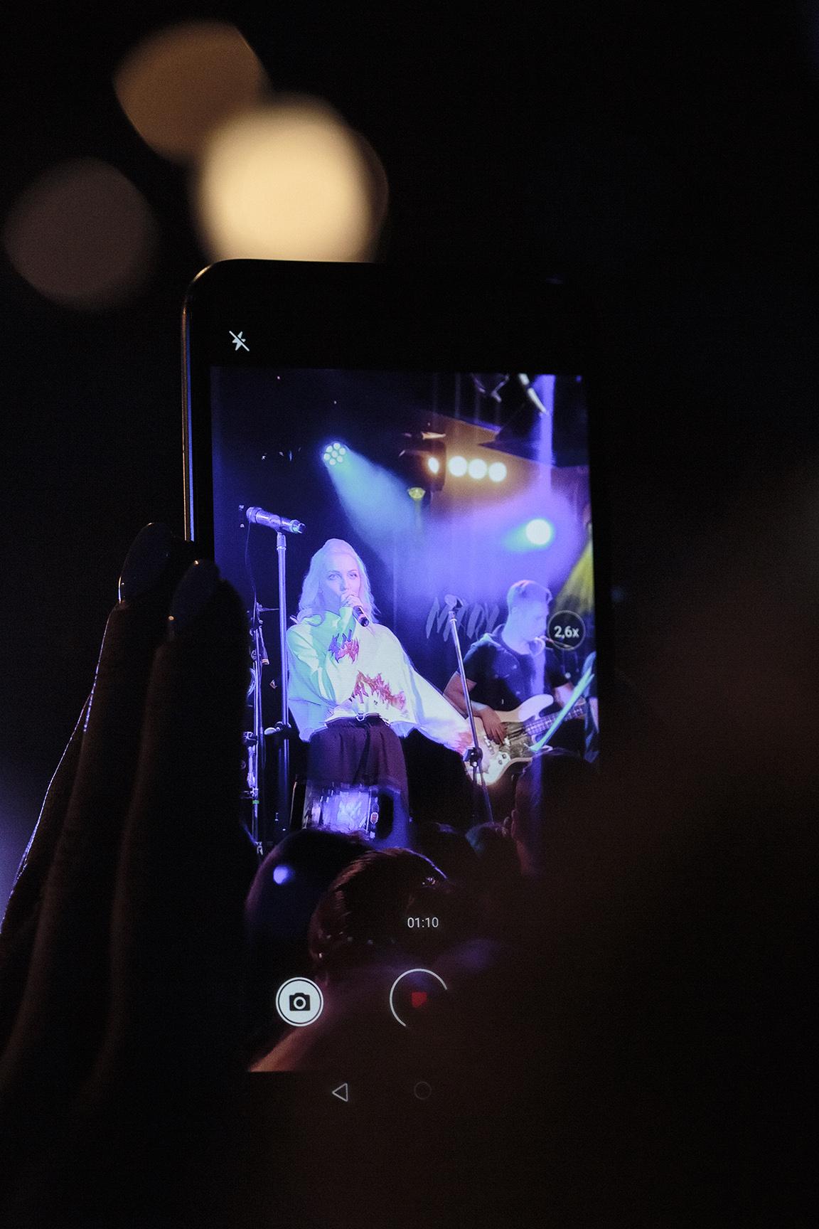 Фото Mary Gu, Первый сольный концерт в Москве