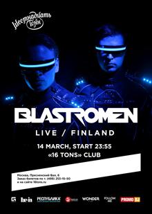 Blastromen (Finland / Live) - Впервые в Москве!