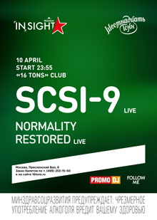 SCSI-9 Live / Normality Restored Live
