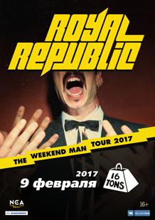 Royal Republic (Swe) — Презентация альбома!