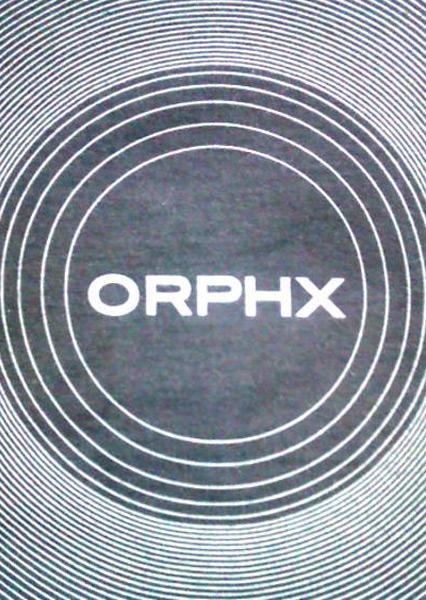 Афиша ORPHX (CA)