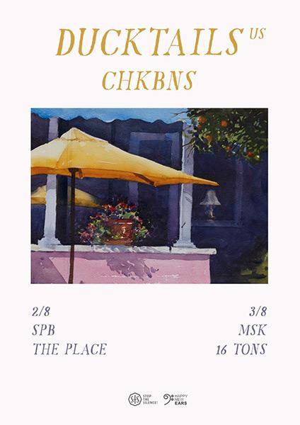 Афиша Ducktails (US), Chkbns