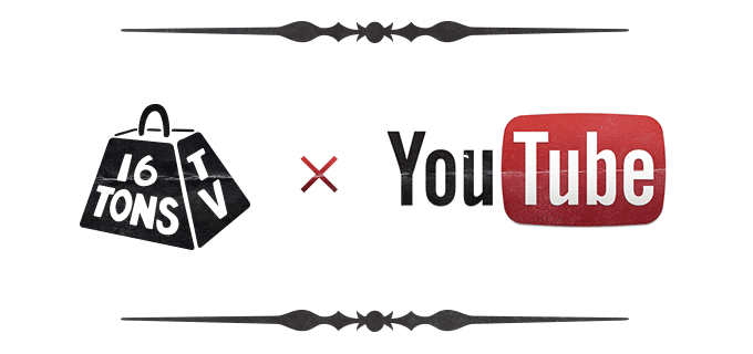 Официальный канал клуба «16 Тонн» на Youtube
